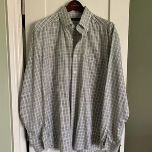 Men's Ermenegildo Dress Shirt XL